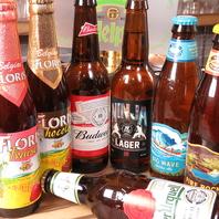 豊富なドリンク!アルコールは100種類以上常備!