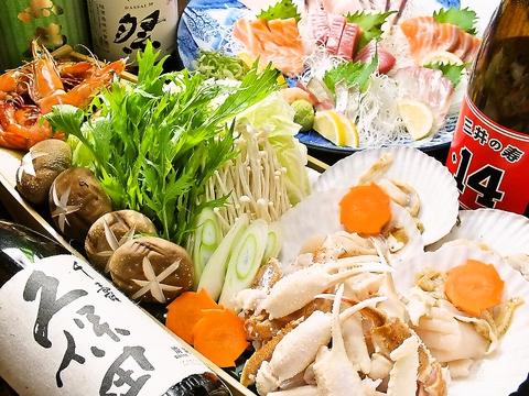 瀬戸内の鮮魚&全国の日本酒・焼酎が愉しめる居酒屋