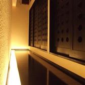 間接照明きらめく廊下…。非日常空間を演出します。