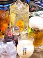 飲み放題付コースが大人気! コースに+1000円で120分飲み放題です! 通常のドリンクメニューそのまま全品飲み放題! さらに単品飲み放題680円で楽しめる♪ ハイボールも生ビールももちろん選べます
