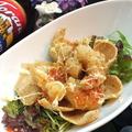 料理メニュー写真プリプリとサクサクのエビチリマヨネーズ