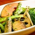 料理メニュー写真ゴロゴロ有機野菜のガーリックハーブソテー