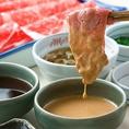 【タレのこだわり】しゃぶ禅謹製【胡麻ダレ】そのままでも美味しく召し上がれます。ラー油を入れるとさらに・・・・・・