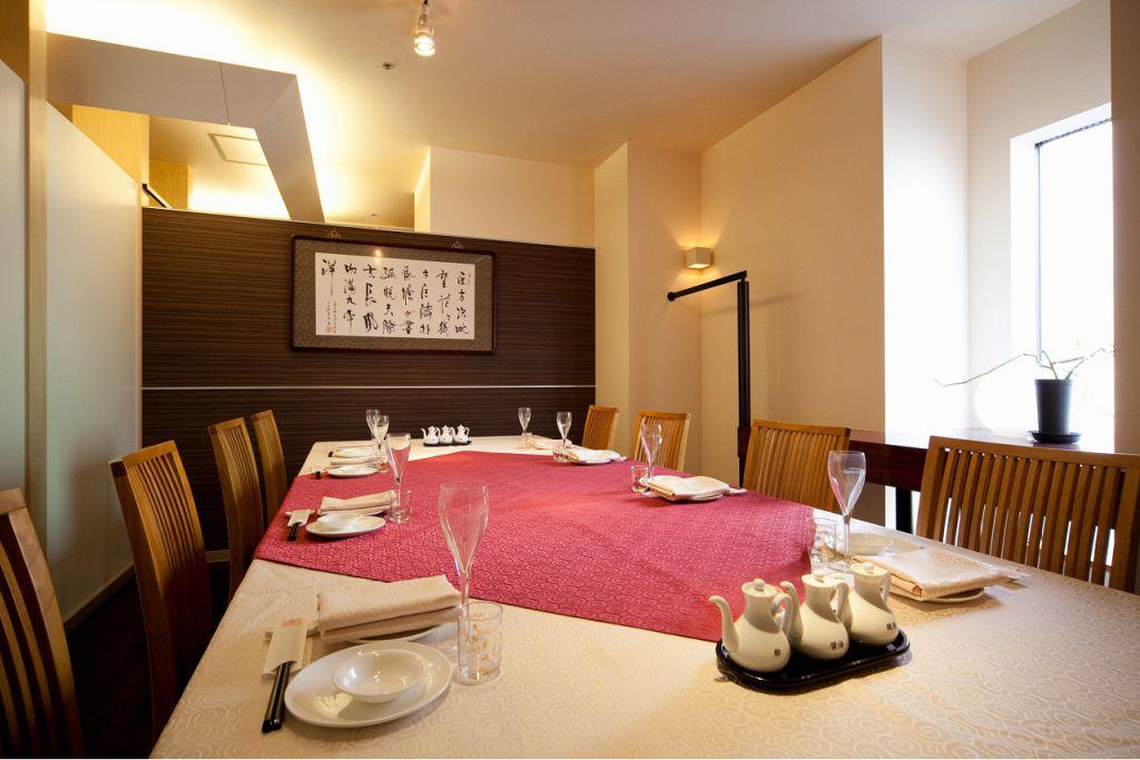 完全個室は接待や会合、記念日に最適。
