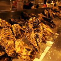 産地直送の牡蠣をご用意!年中各産地が食べられる。