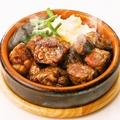 料理メニュー写真牛肉サーロインのグリル ~ガーリックソース~