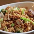 料理メニュー写真豚バラ青菜炒飯