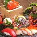 料理メニュー写真伊まりの海鮮ごった盛り