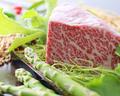 料理メニュー写真鹿児島黒毛和牛炙り ~トリュフ塩~