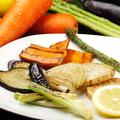 料理メニュー写真旬野菜の鉄板焼