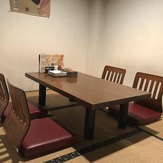 3~4名様用のお座敷特別席