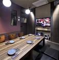 カラオケ付きの個室を全6室完備しています。宴会のプラスαツールとして人気の空間です。カラオケだけでなくTVの視聴も可能です。野球やサッカーなどのスポーツ観戦にご利用下さい!
