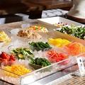 料理メニュー写真彩り野菜