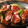 US産ブラックアンガス牛のステーキ