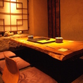 6名様までご利用可能な個室は2室ございます!グループ様もプライベートな空間でお楽しみください♪