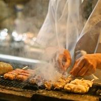 鮮度抜群の串焼きをご賞味下さい。
