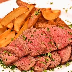 料理メニュー写真オーストラリア産オーガニックビーフステーキ&フリット