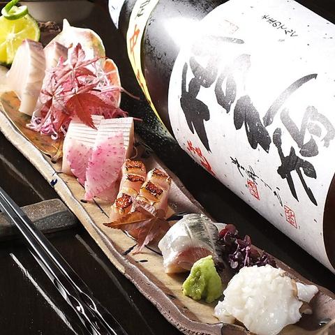 地元宮崎中心の厳選食材や全国各地の銘酒が自慢の人気酒場