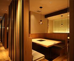 20名様以上で個室をご利用いただけます。おこもり感たっぷりの和空間です。