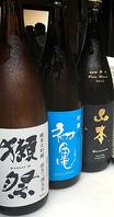初夏の日本酒をご用意!