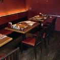 テーブル型10名様のみの空間で半個室です♪【大阪 江坂 居酒屋 個室 飲み放題 女子会 エンドレス 朝まで】