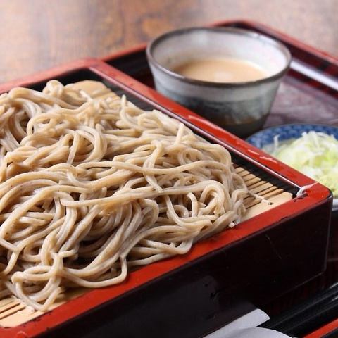 古都鎌倉で昭和十三年創業。八十余年続く老舗蕎麦処
