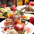 【さまざまなお祝いシーンに】お誕生日会はもちろん、いろんなめでとうのシーンに使える、デザートタワーコース♪飲み放題付で3500円。