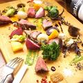 料理メニュー写真黒毛和牛ヒウチステーキ