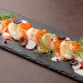 料理メニュー写真おまかせ海鮮カルパッチョ