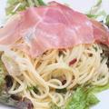 料理メニュー写真パルマ産生ハムのペペロンチーノ