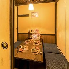 【2~6名様個室】完全個室をご用意しております。ご友人とのプライベート飲み会におすすめです。(川崎 個室 居酒屋 地鶏 飲み放題 宴会 接待 女子会 誕生日 記念日)