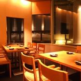落ち着いた空間でお料理をご堪能ください
