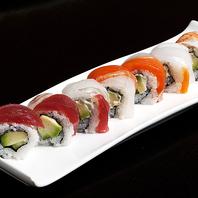 江戸前寿司と海外創作寿司