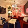 個室:エレガントルーム※写真はイメージです。店舗によりルームが異なる場合がございますのでご了承ください。