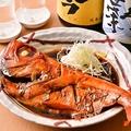 料理メニュー写真地金目鯛の丸煮付け