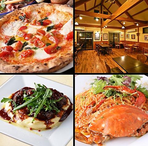 ピッツァの美味しさは折り紙つき!「真のナポリピッツァ協会」認定店の至極料理。