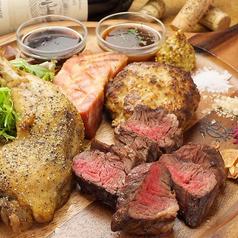 料理メニュー写真本日のお肉盛り合わせ