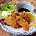 料理メニュー写真三陸産カキフライ