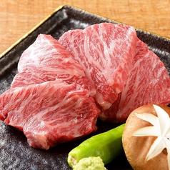 料理メニュー写真飛騨牛溶岩焼きカルビ