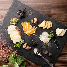 チーズの3種盛合せ