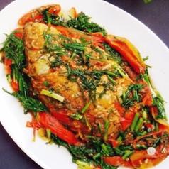 CA SOT CA CHUA カーソッカーチェア(魚とトマトを使った煮付け)
