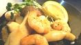 エビとエリンギの塩だれ焼き:650円(税抜)