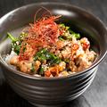 料理メニュー写真牛肉とニラの甘辛丼