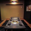 うれしい!プライベート空間!個室をリニューアル致しました!10名様前後の宴会に最適のお席です。
