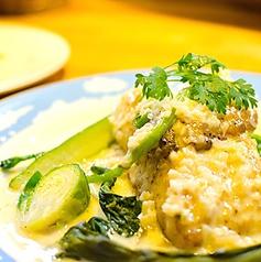 料理メニュー写真シェフおすすめのお魚料理