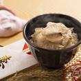 お祝いごとにぴったりの長崎産の天然の真鯛を用いた鯛飯をご用意。