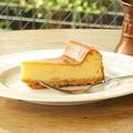 料理メニュー写真ベークドチーズケーキ