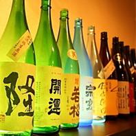すべて純米、酒通も驚く品揃え
