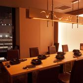 新宿での接待に最適。夜景が見えるVIPテーブル個室