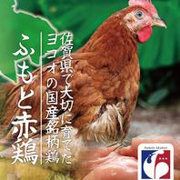 『栄』は佐賀県産ふもと赤鶏を使用!